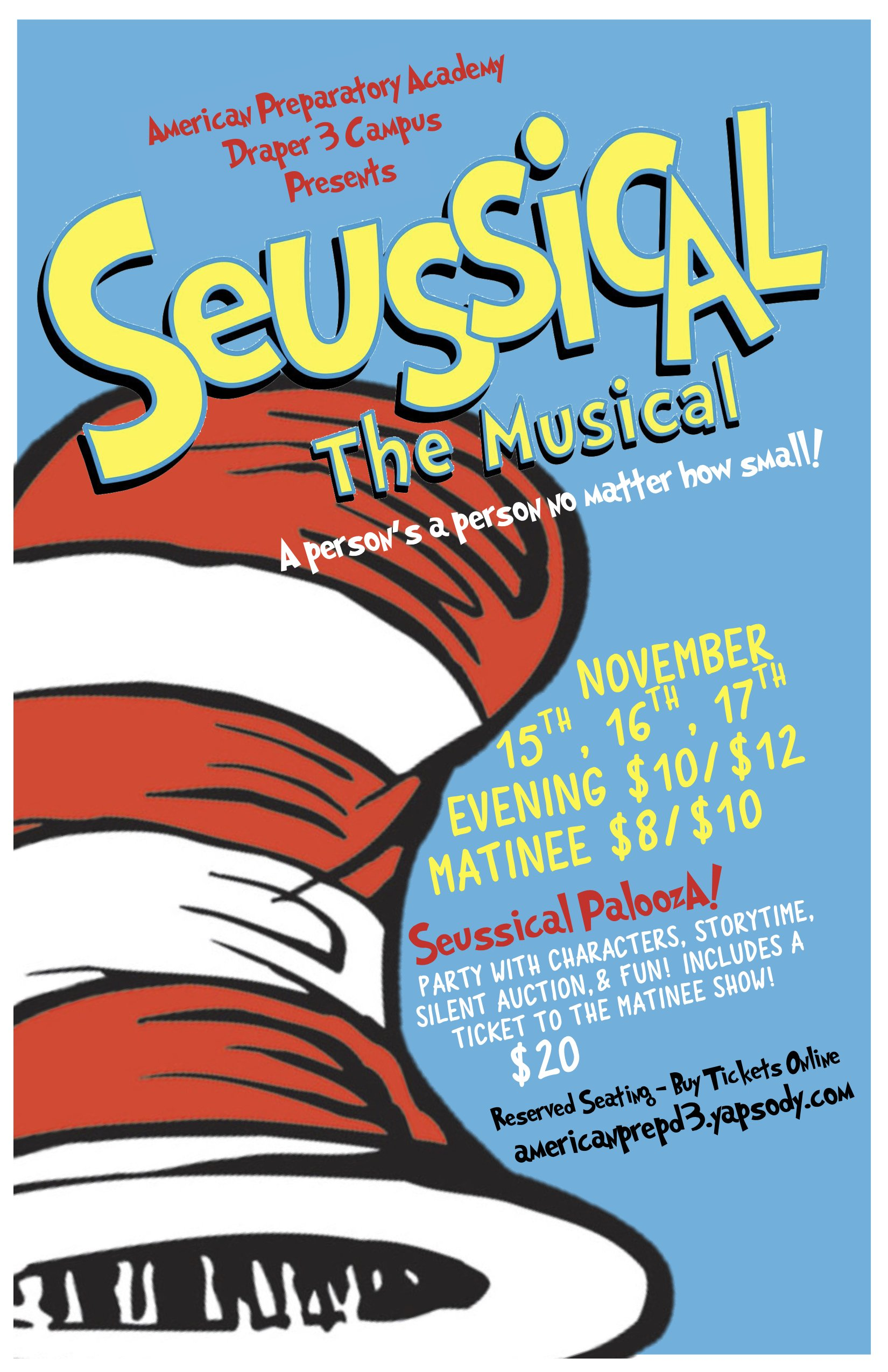 da7f2179ce4b This fantastical family musical is based on the books of Dr. Seuss